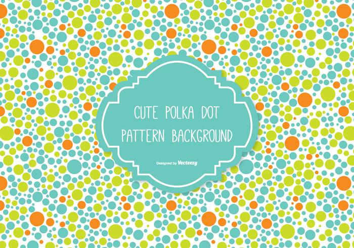 Cute Polka Dot Background