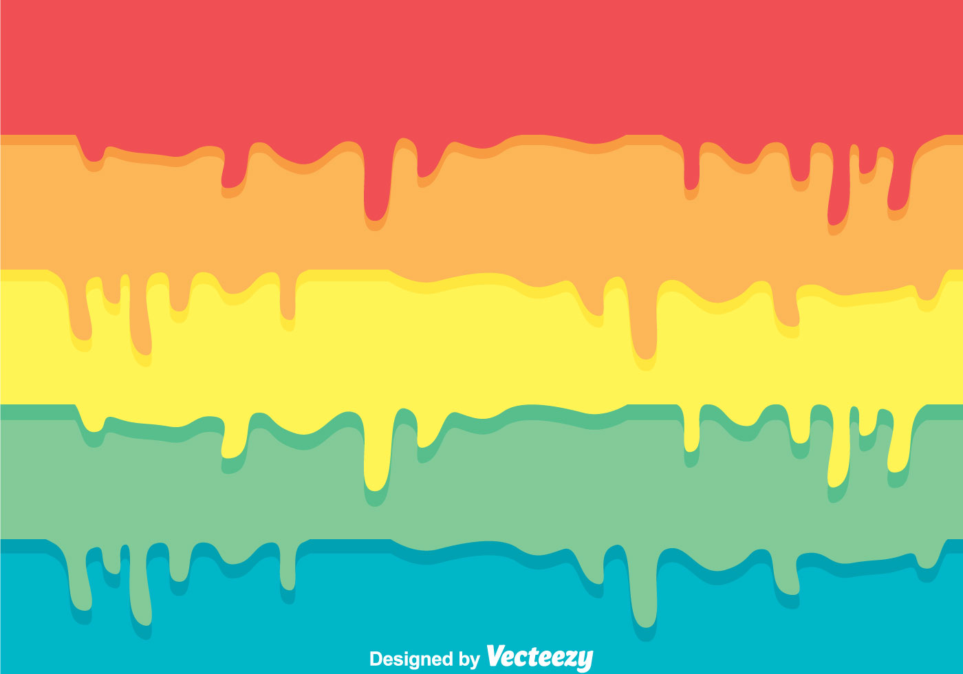 Colorful Paint Drip Background Download Free Vector Art
