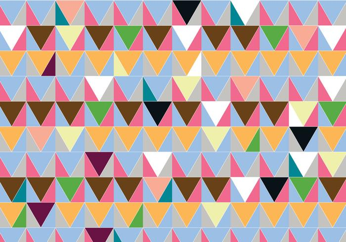 Fondo abstracto del patrón del triángulo