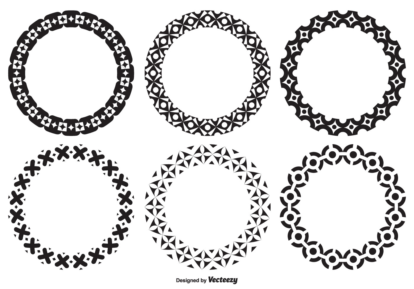 Assorted Decorative Circle Shapes - Download Free Vector ...