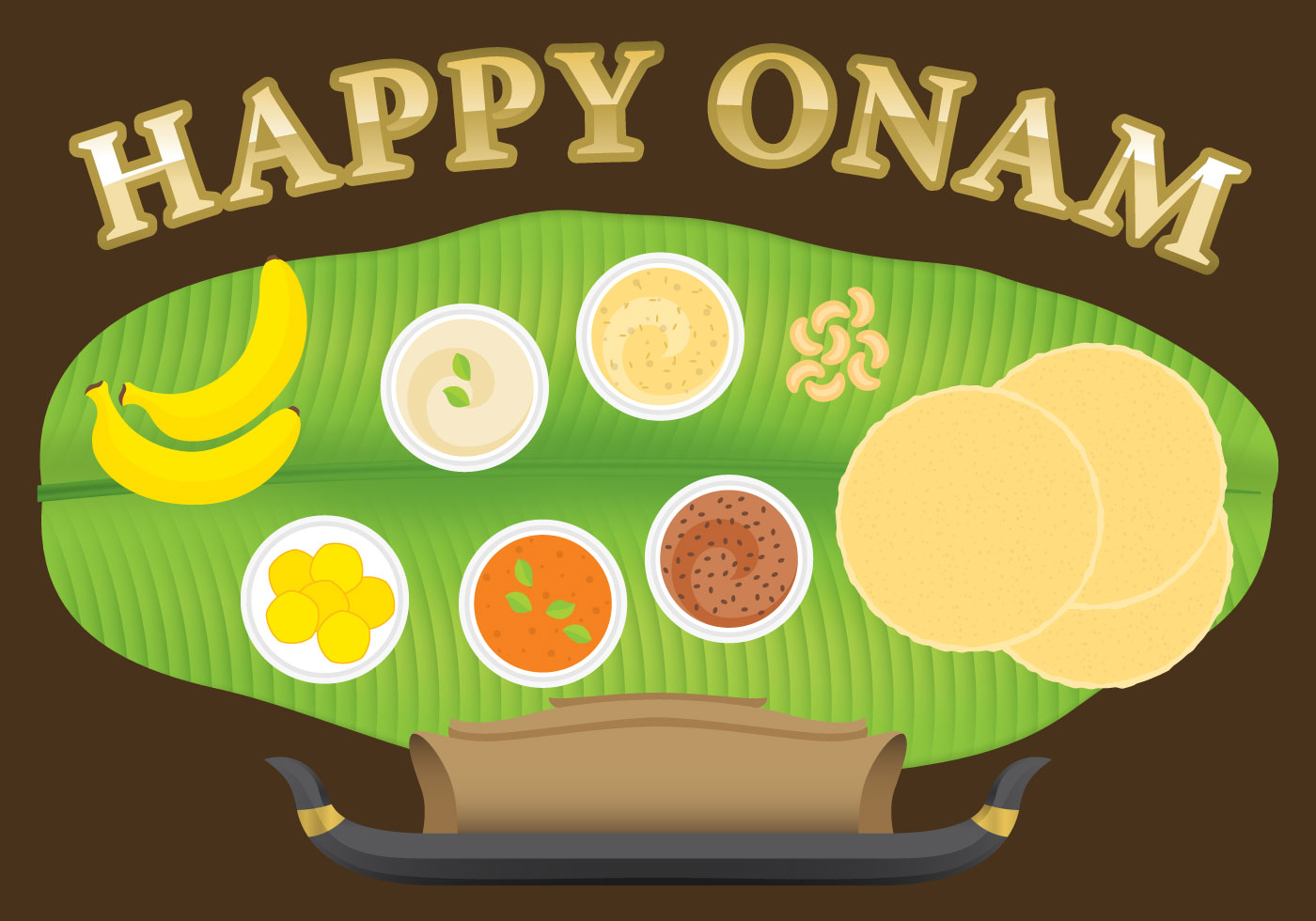 Happy Onam - Download Free Vector Art, Stock Graphics & Images