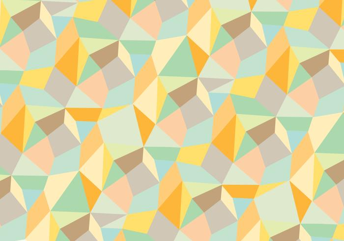 Trendy abstract geometric pattern background vector