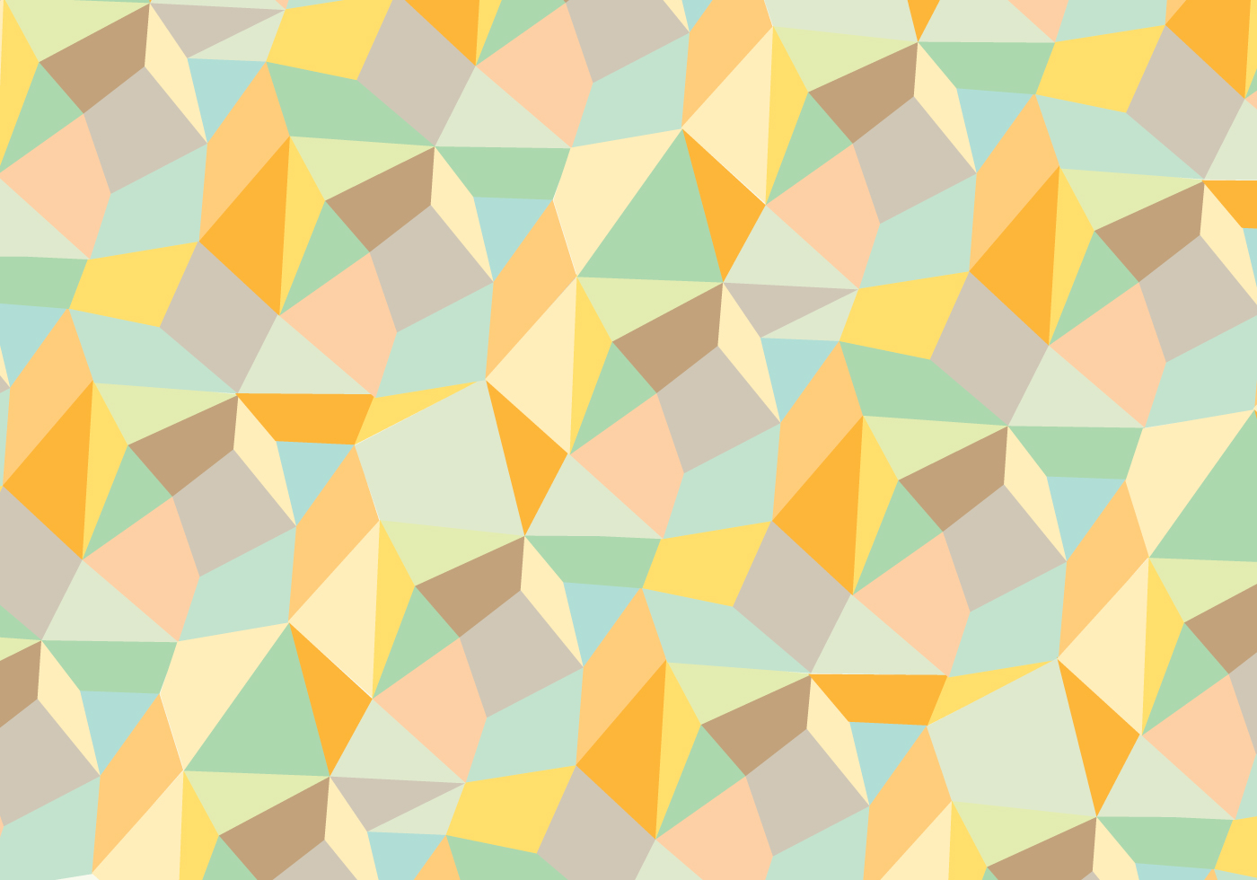 Trendy abstract geometric pattern background vector - Geometric wallpaper colorful ...