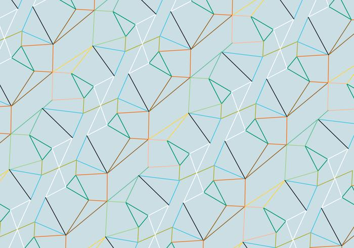 Linear pattern background vector