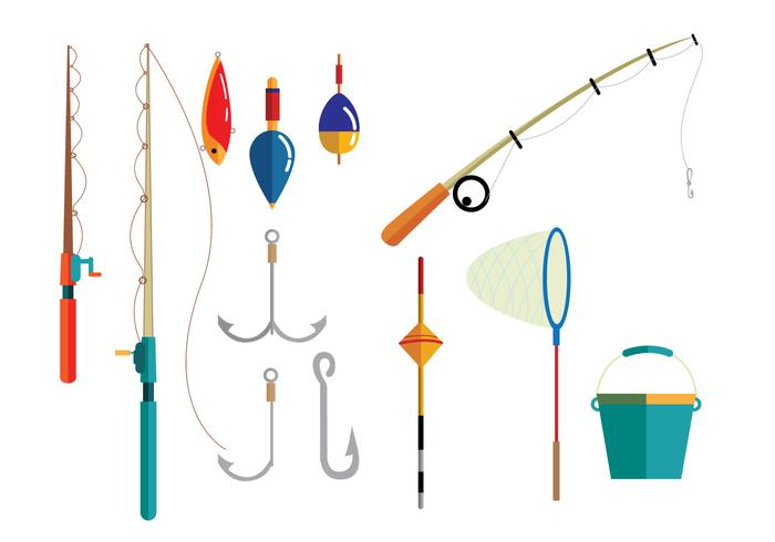 Fishing Equipment Vectors