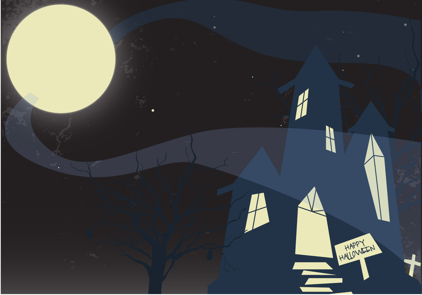 Free Haunted Mansion Vector - Download Free Vector Art ...