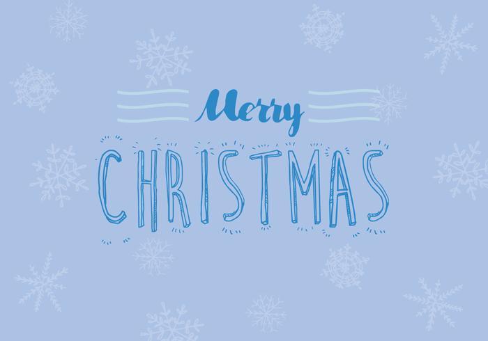 Free Christmas Snowflake Vector
