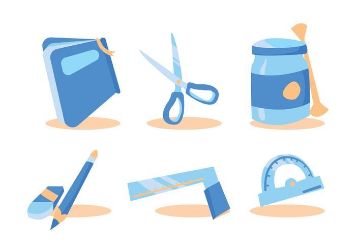 Die Cut Craft Vector Set
