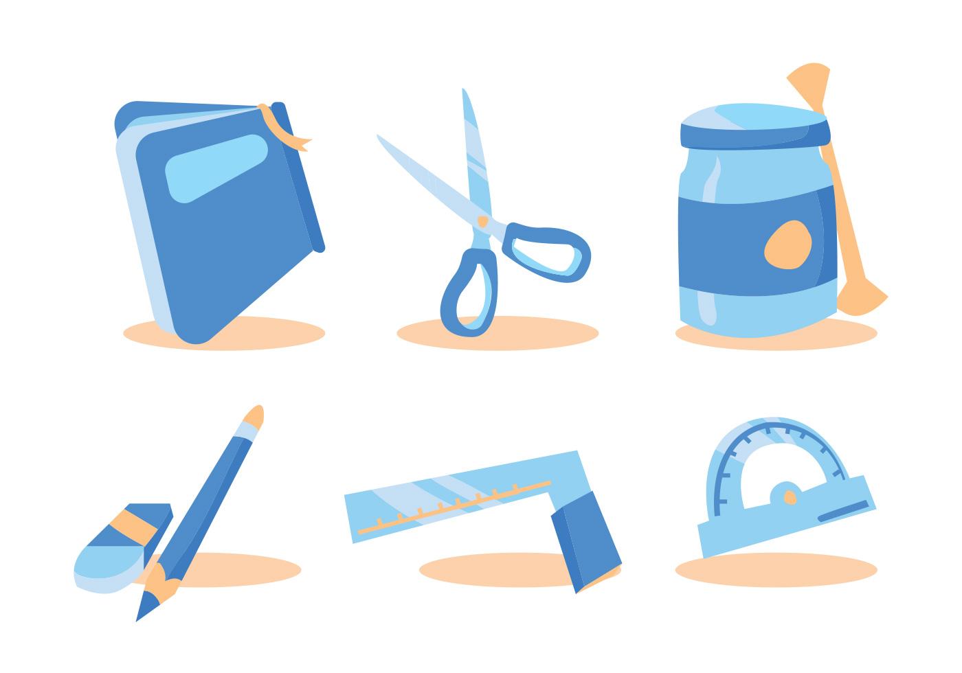 Die Cut Craft Vector Set Download Free Vector Art Stock