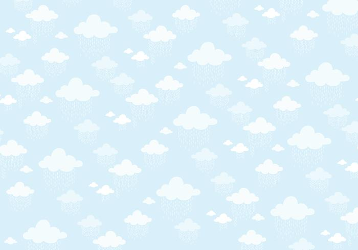 Clouds pattern background
