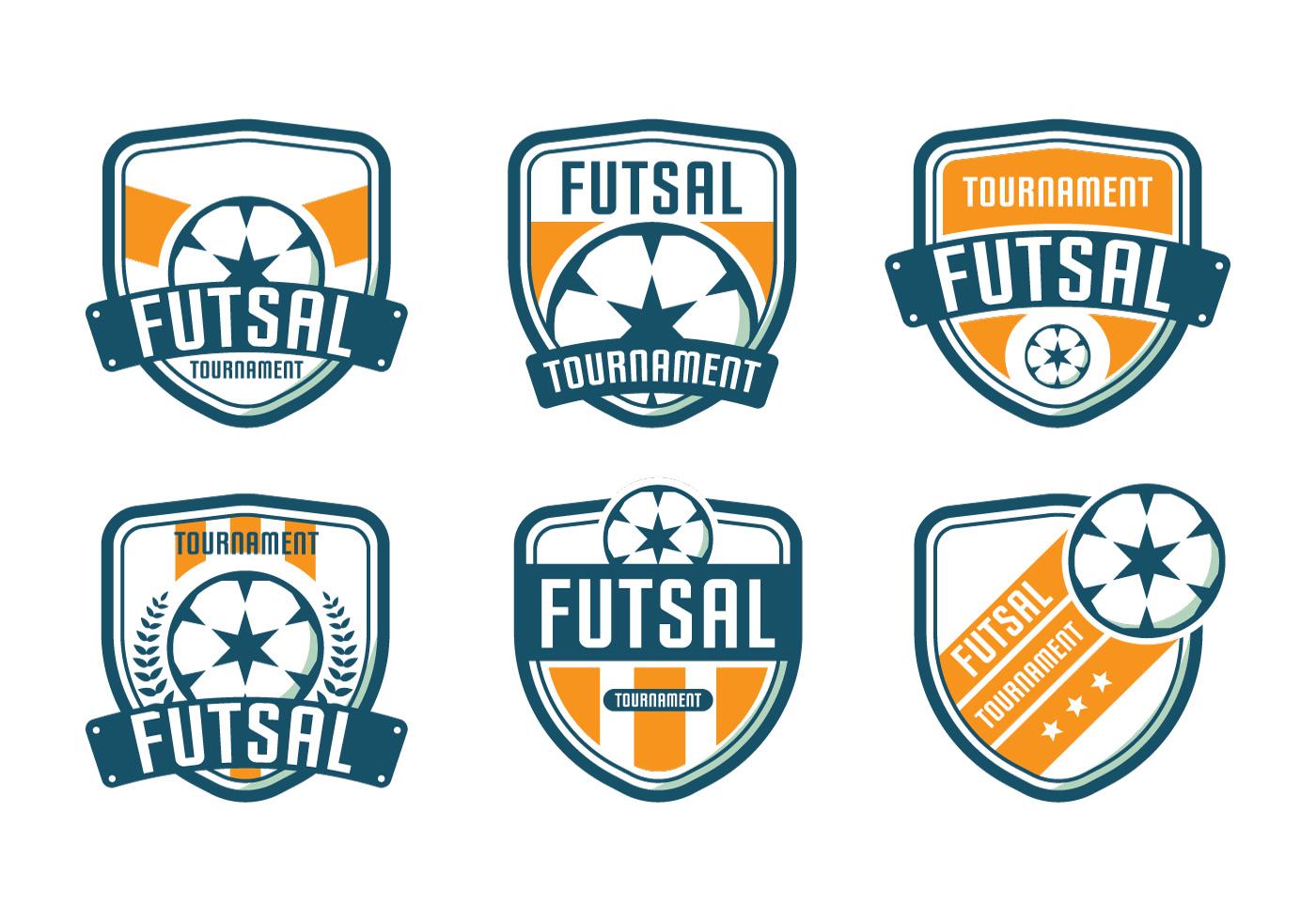 futsal logo tournament download free clipart vectors