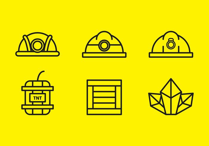 Free Gold Mine Vector Icons #9