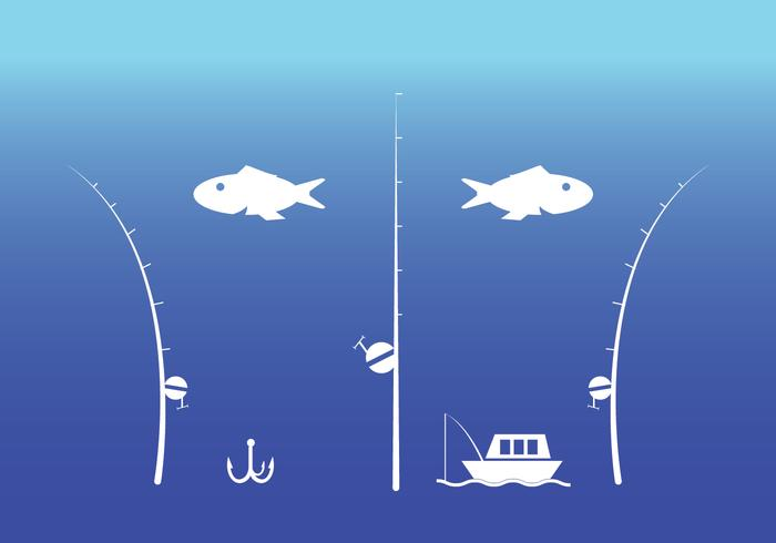 Fishing Rod Vector