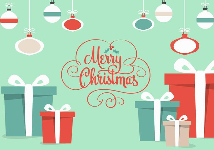 Free Christmas Gifts Vector