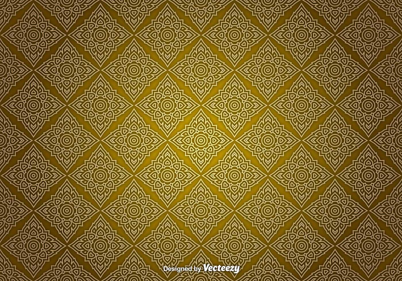 Thai Sameless Pattern Download Free Vector Art Stock