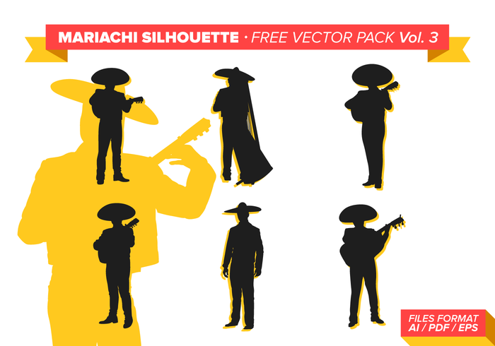 Mariachi Gratis Vector Pack Vol. 3