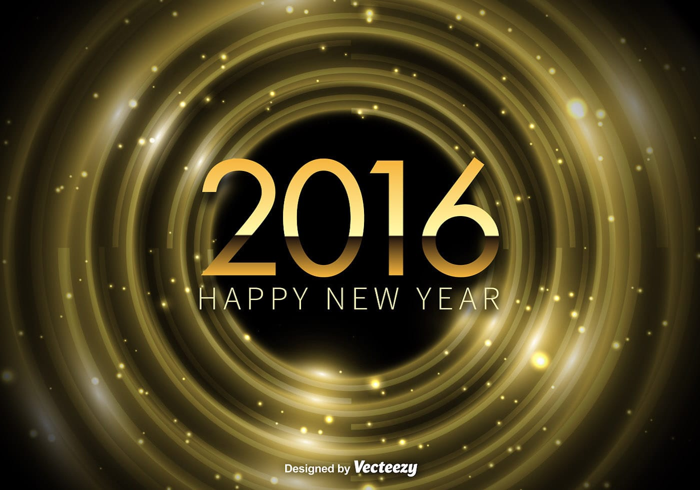 Happy New Year 2016 background 100586 - Download Free ...