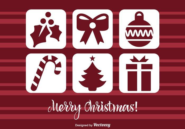 Christmas Icon Vect Set
