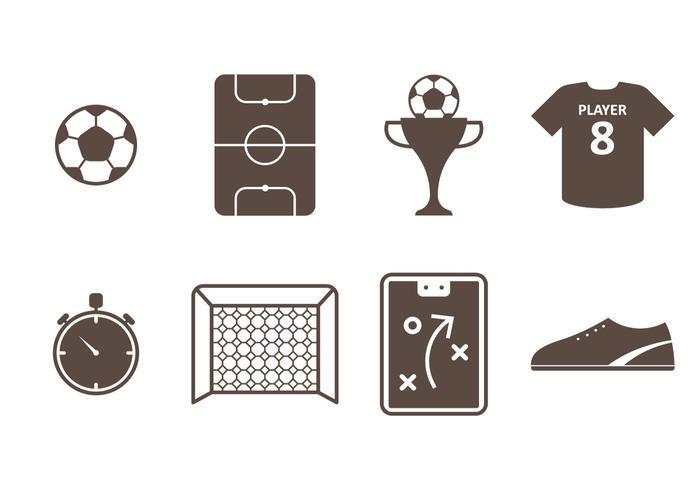 Icona di Futsal vettore