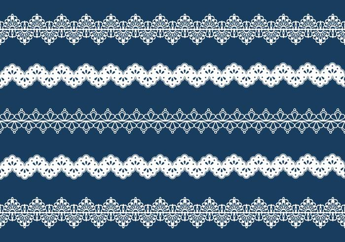 Vector Lace Trim