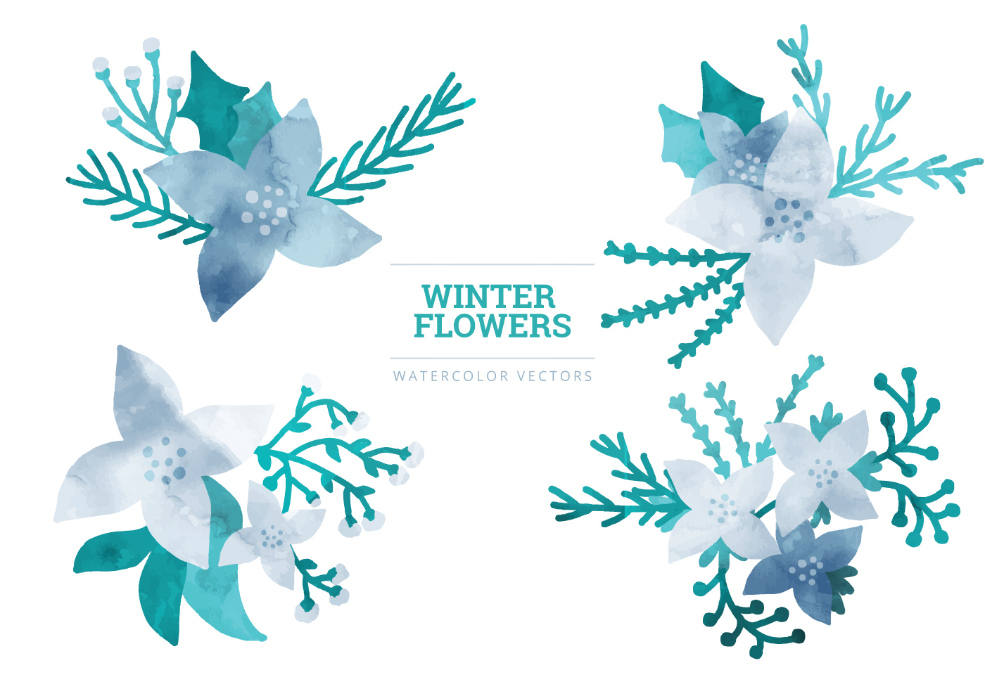 vector winter elements download free vectors clipart. Black Bedroom Furniture Sets. Home Design Ideas