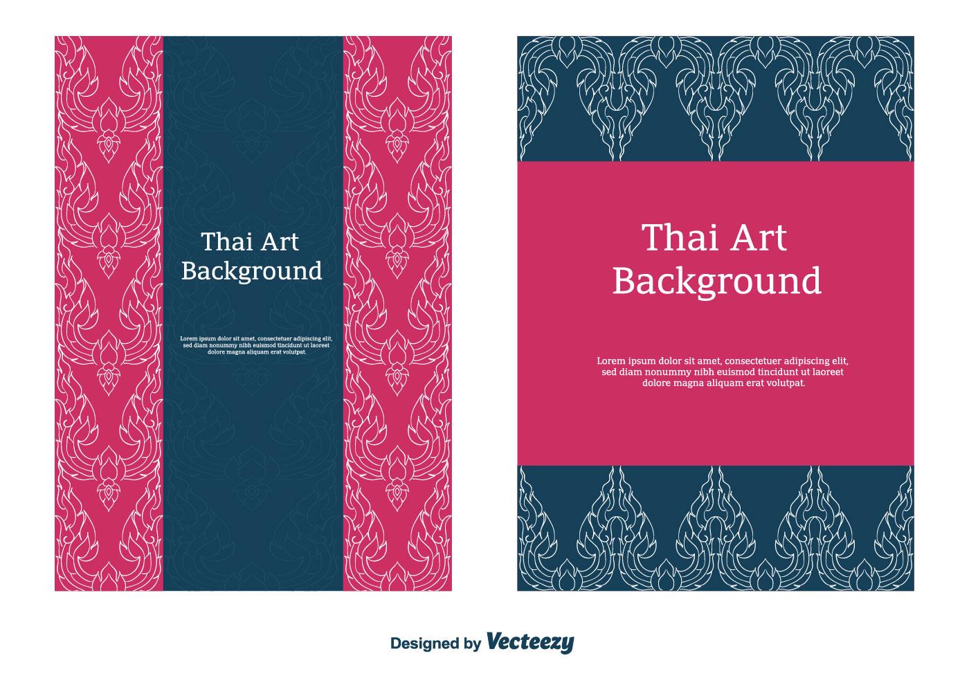Free Thai Pattern Vector Download Free Vector Art Stock