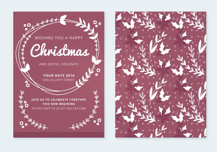Christmas Vector Card