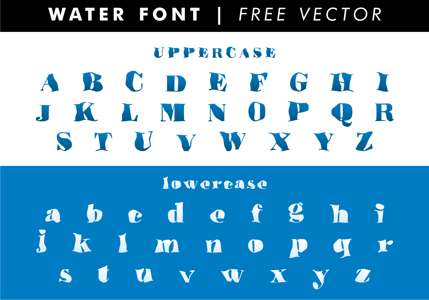 Free Fonts Free Water Font Find Font Samples Free