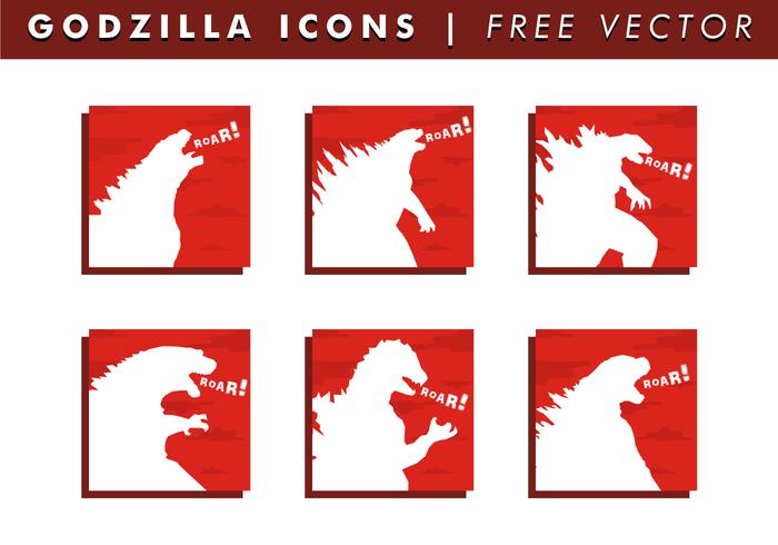 icone gratis godzilla