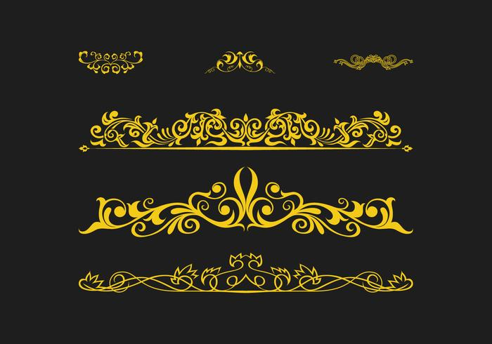 FREE SCROLLWORK VECTOR 2
