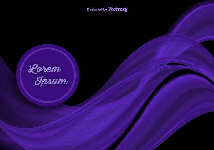 Elegant Purple waves vector