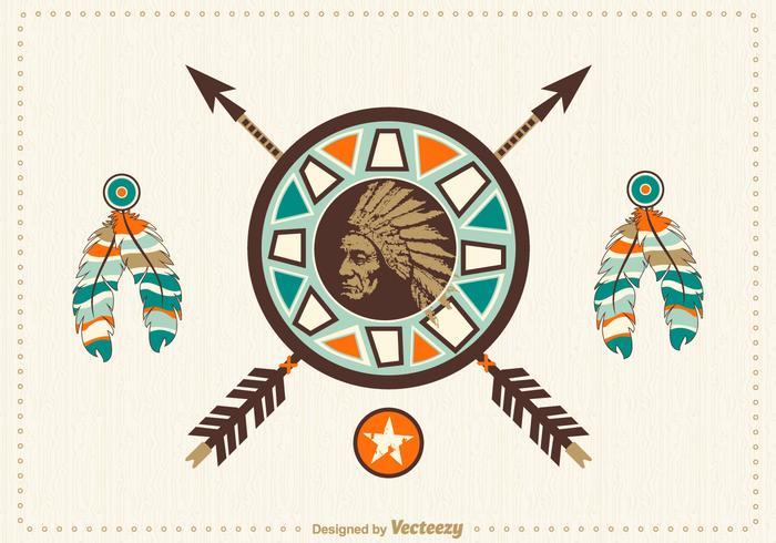 Free Native American Vector Design