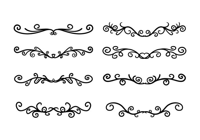 Scrollwork Free Vector Art 2588 Free Downloads