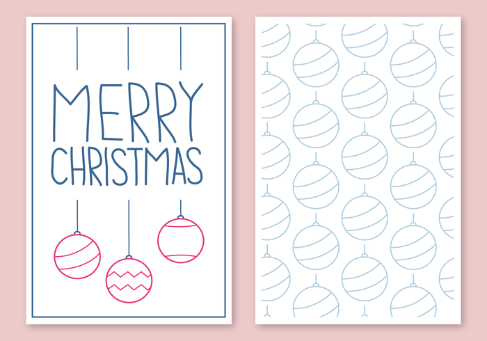 Free Christmas Card Vector