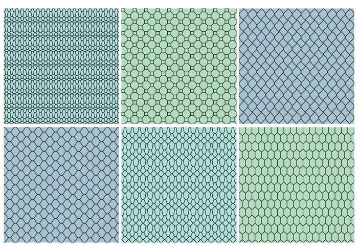 Nets Textures vector