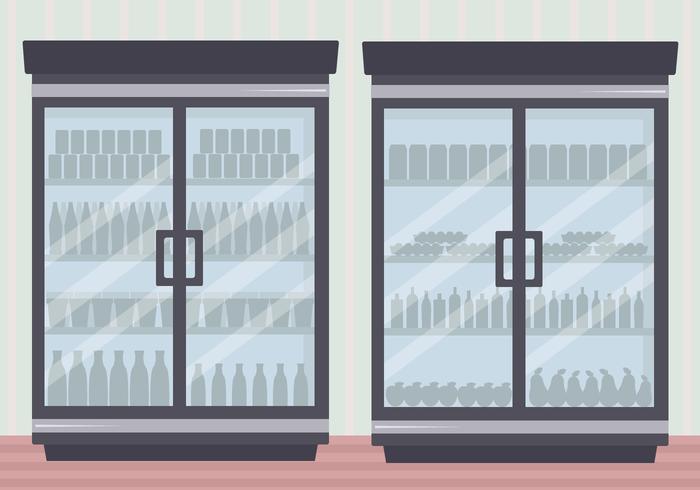Vetor de geladeira grátis