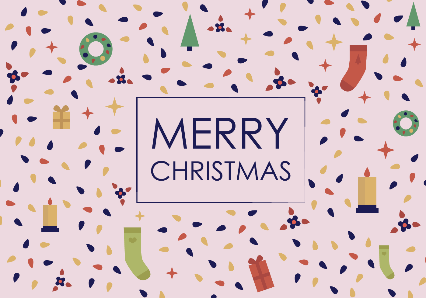Free Merry Christmas Vector - Download Free Vector Art, Stock Graphics ...