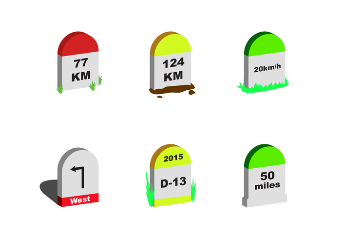 download vector free milestone vector vectorpicker