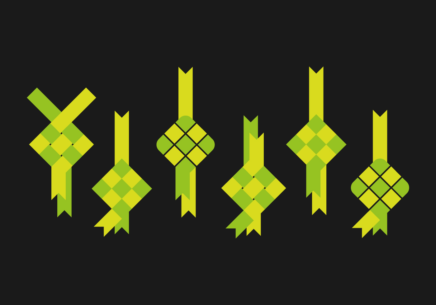 Ketupat Icon - Download Free Vector Art, Stock Graphics & Images