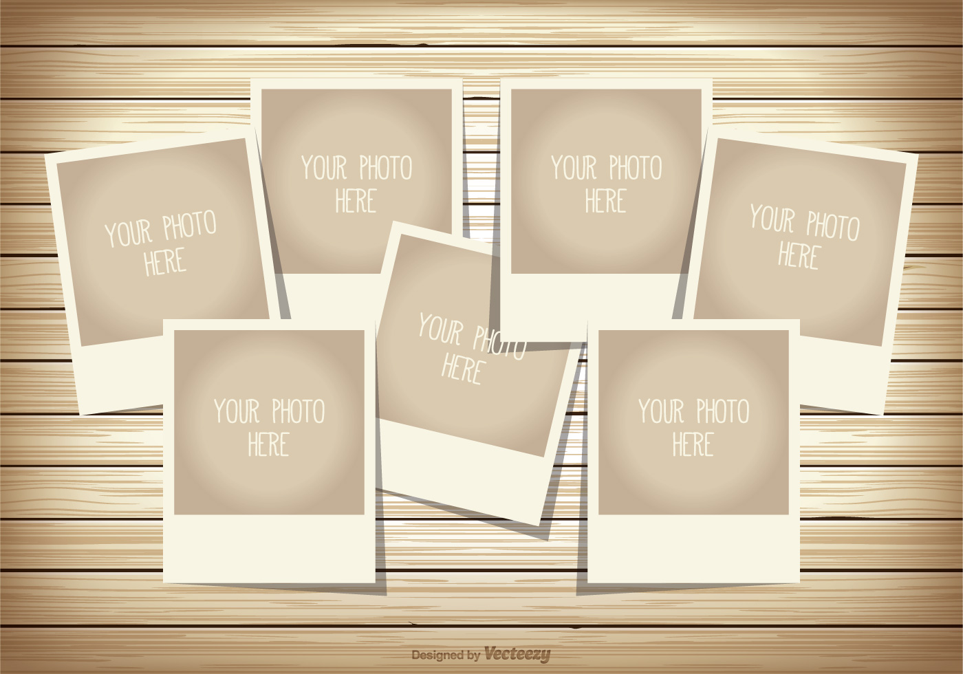 Photo Collage Template Download Free Vector Art Stock