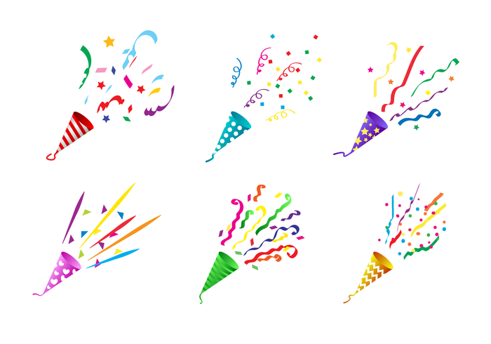Free Party Popper Vector