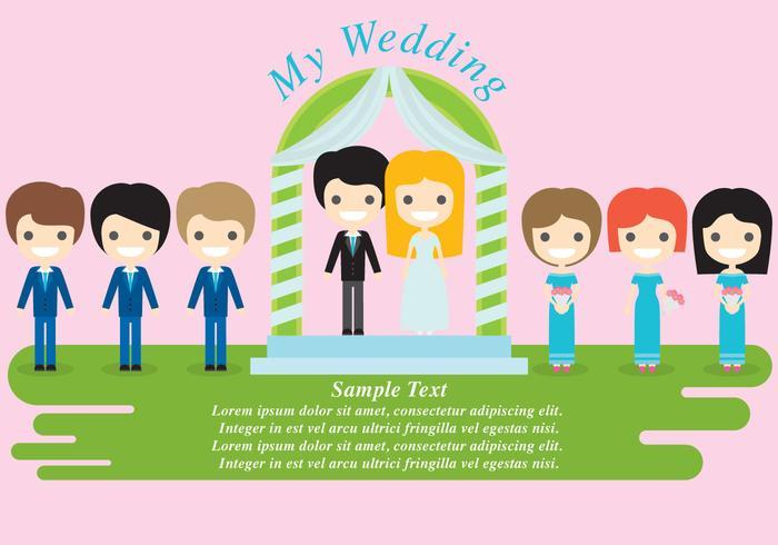 Personagens do casamento