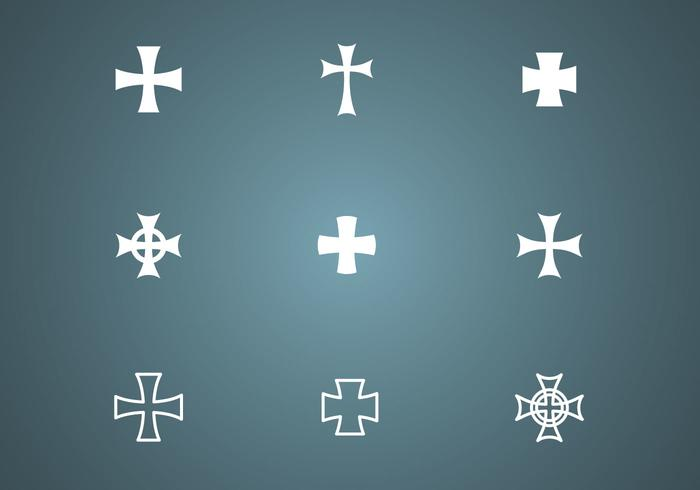 Free Crosses Vector