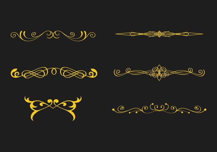 FREE SCROLLWORK VECTOR 1