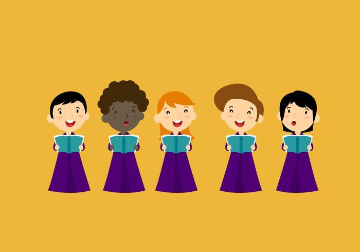 Choir Vector Characters