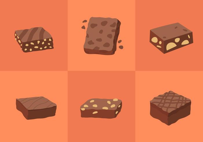 Brownie Vectores