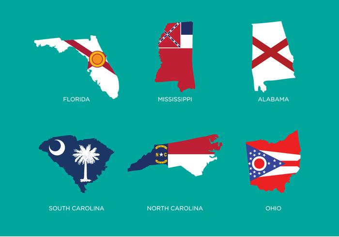 State Outline Vector