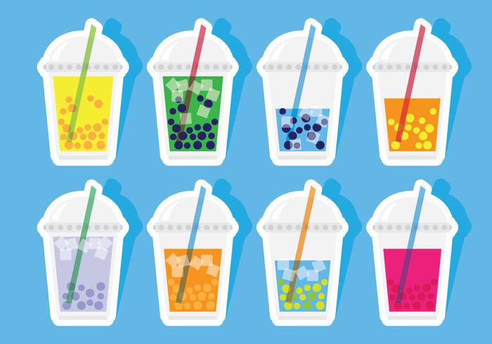 Bubble Tea Stickers