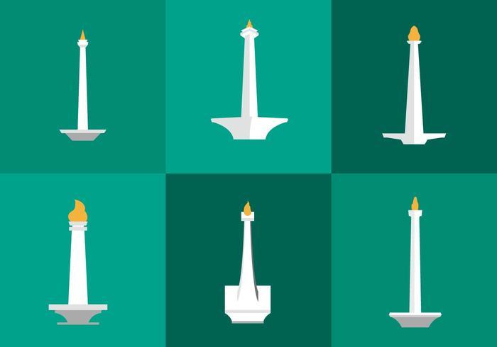 Monas Vector Icons