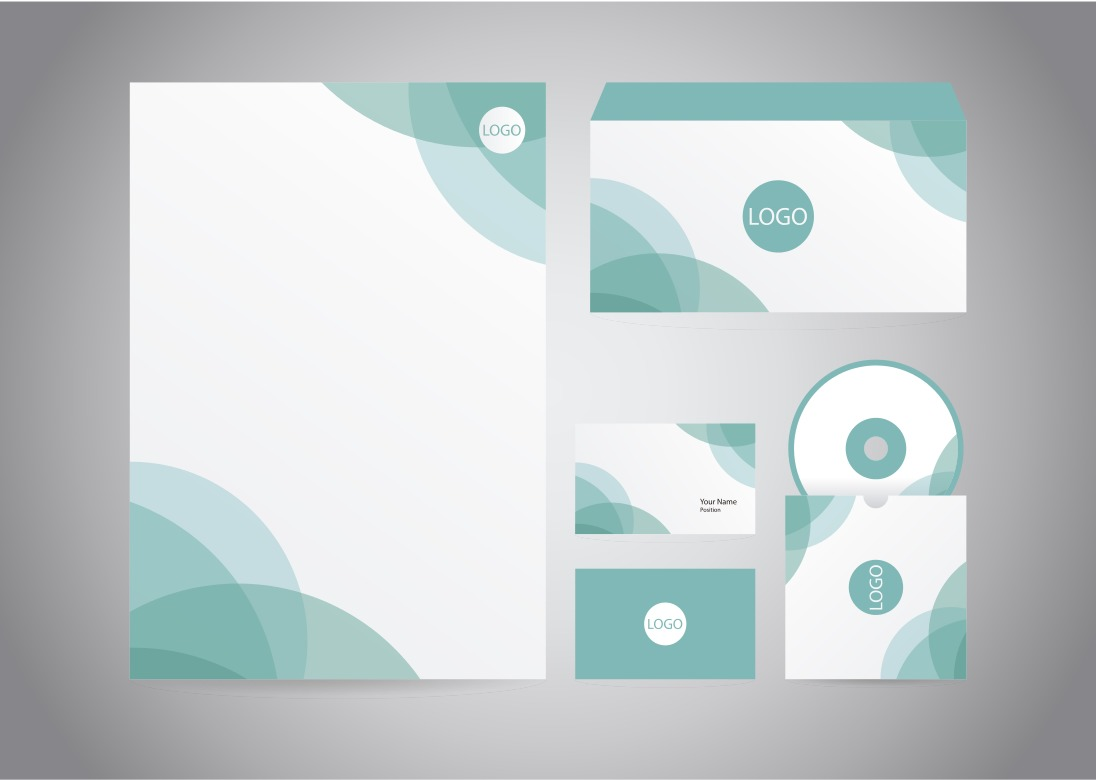 Letterhead free vector art 9207 free downloads abstract turquoise letter head spiritdancerdesigns Gallery